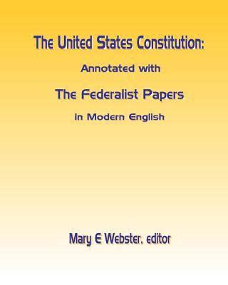 Federalist papers written in modern english